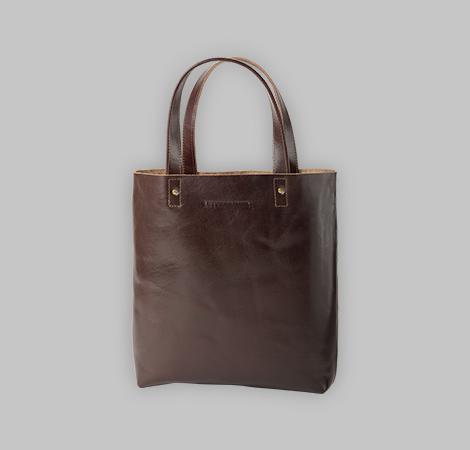 Rostfarbende Tasche 17