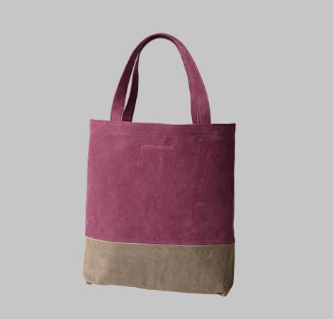 Zweifarbige Tasche 18