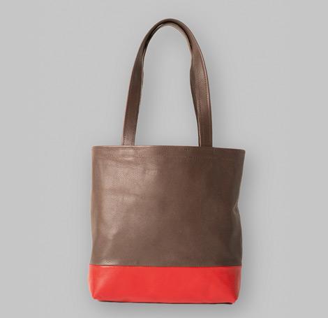 Zweifarbige Tasche 12