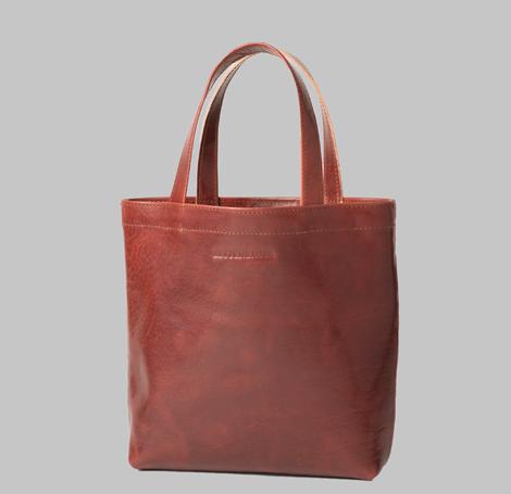 Cognacfarbende Tasche 1