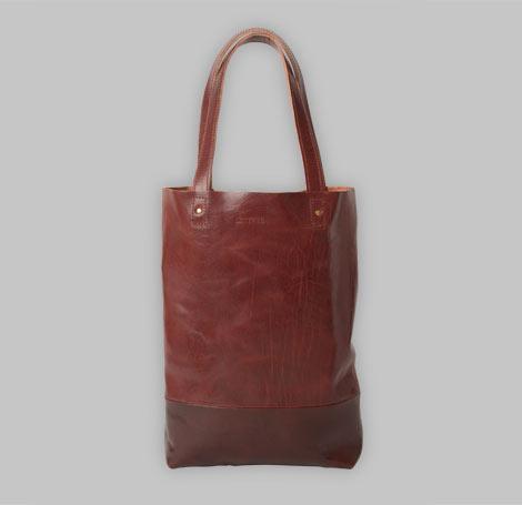 Cognacfarbende Tasche 3