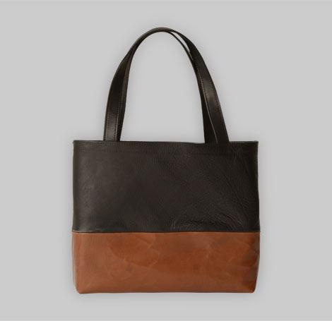 Zweifarbige Tasche 15