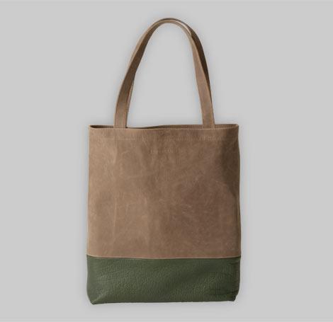 Zweifarbige Tasche 13