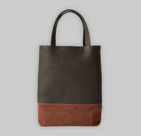 Zweifarbige Tasche 11